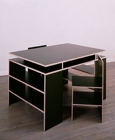 Quiz donald judd or cheap furniture for Cheap minimalist furniture